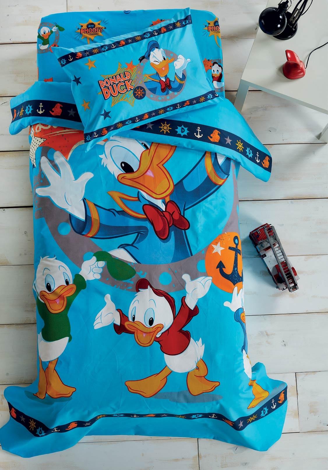 Σεντόνια Μονά (Σετ) White Egg Disney Donald D5