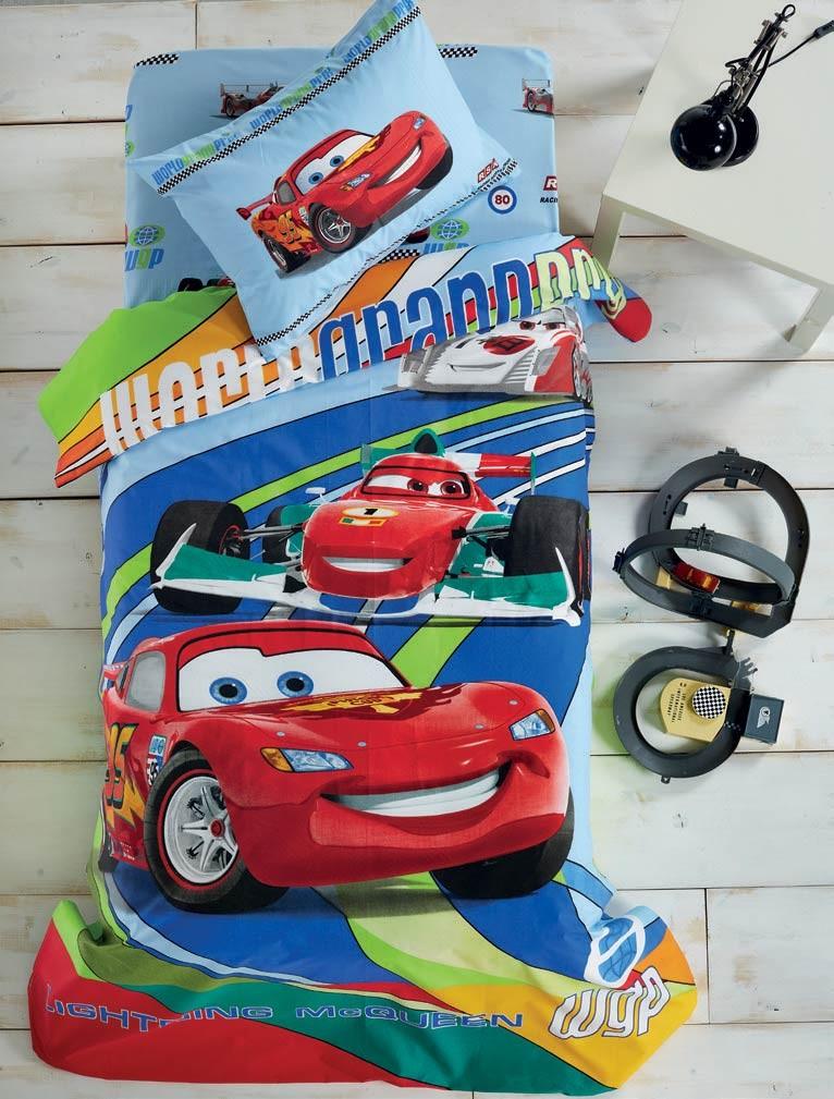 Σεντόνια Μονά (Σετ) White Egg Disney Cars D3
