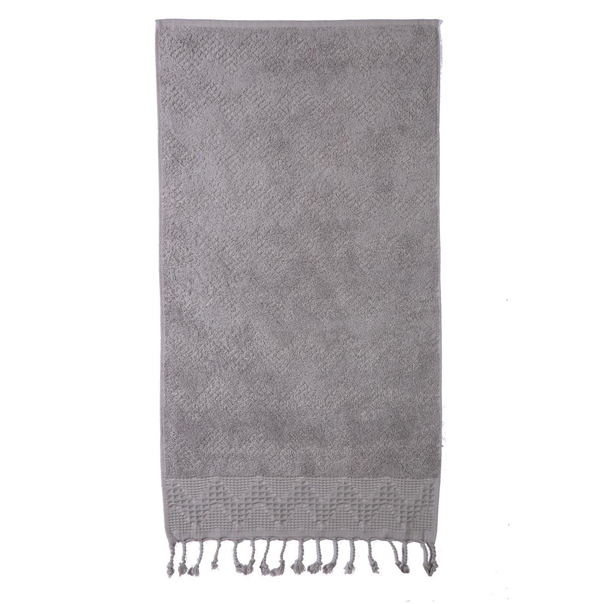 Πετσέτα Χεριών (30×50) Nef-Nef Storm Grey
