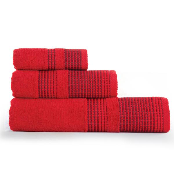 Πετσέτα Χεριών (30x50) Nef-Nef Keneth Red