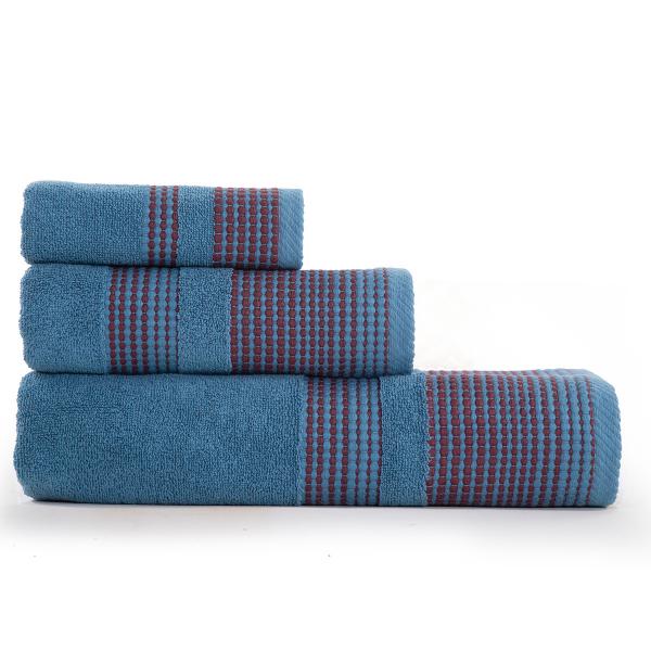 Πετσέτες Μπάνιου (Σετ 3τμχ) Nef-Nef Keneth Blue