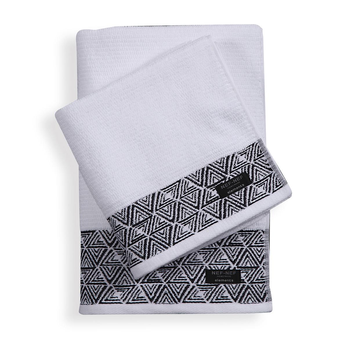 Πετσέτα Προσώπου (50x100) Nef-Nef Elements Aston White