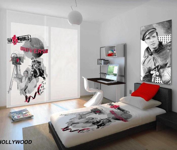 Κουρτίνα (140×260) MC Decor Hollywood