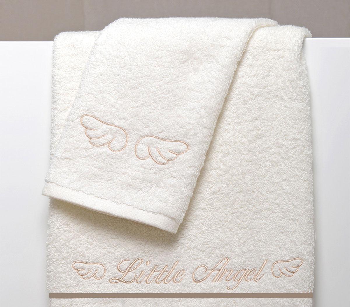 Βρεφικές Πετσέτες (Σετ 2τμχ) Baby Oliver Little Angel Beige 320