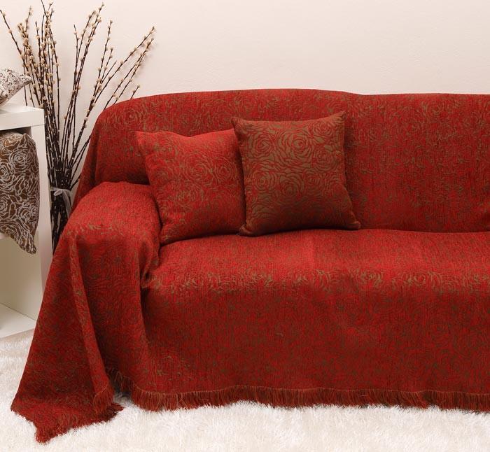 Ζεύγος Διακοσμητικές Μαξιλαροθήκες Anna Riska Des 1424 Red