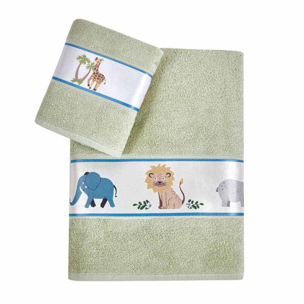 Παιδικές Πετσέτες (Σετ) Kentia Kids Jungle