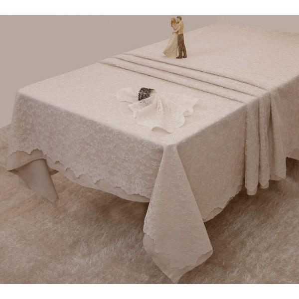 Τραπεζομάντηλο (160x250) Anna Riska Des 2331 Ivory