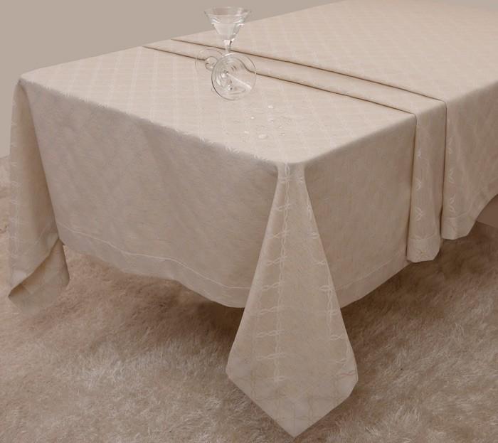Αλέκιαστο Τραπεζομάντηλο Με Φάσα (160x320) Anna Riska Caroline L home   κουζίνα   τραπεζαρία   τραπεζομάντηλα
