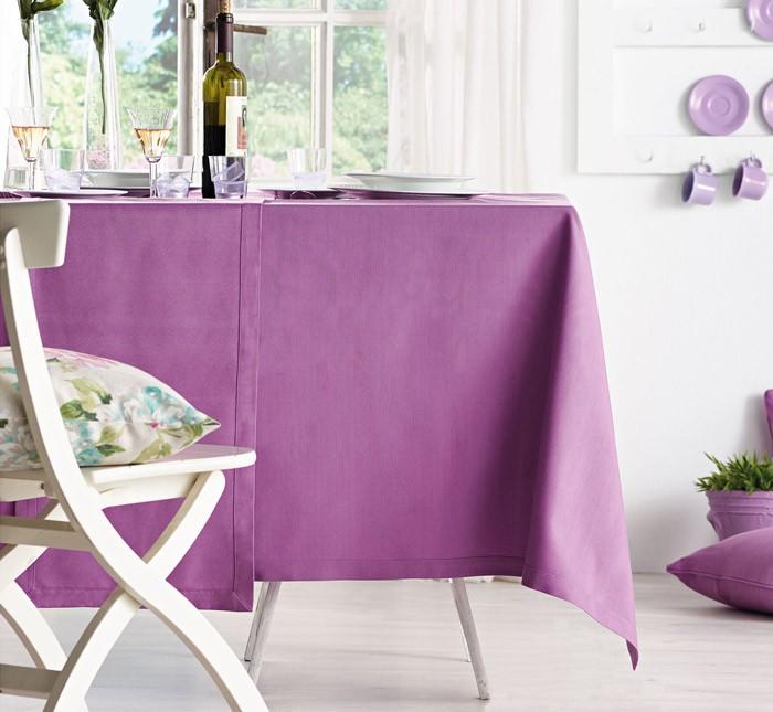 Τραβέρσα Gofis Home 170 Purple Solid