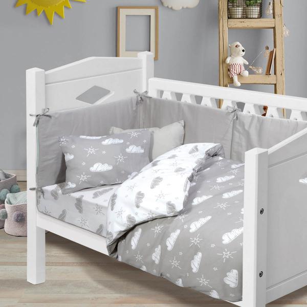 Σεντόνια Κούνιας (Σετ) Das Home Baby Fun Line 4745