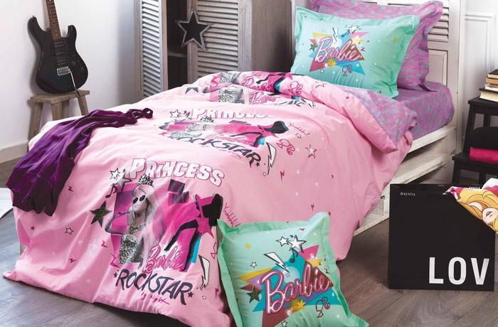 Μαξιλαροθήκη Κατωσέντονου Kentia Kids Collection Barbie 515