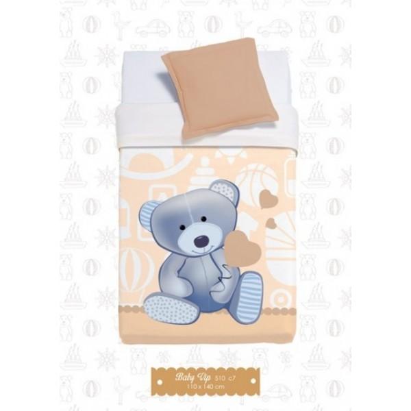 Κουβέρτα Βελουτέ Κούνιας Manterol Baby Vip 510 C07