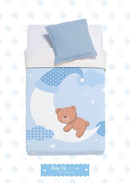 Κουβέρτα Βελουτέ Αγκαλιάς Manterol Baby Vip 511 C08