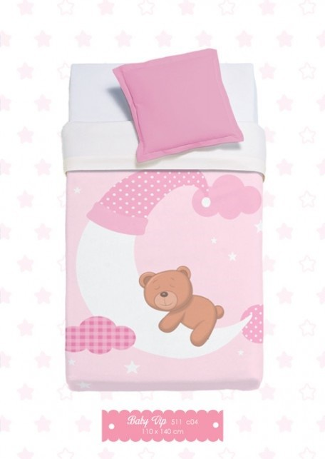 Κουβέρτα Βελουτέ Αγκαλιάς Manterol Baby Vip 511 C04