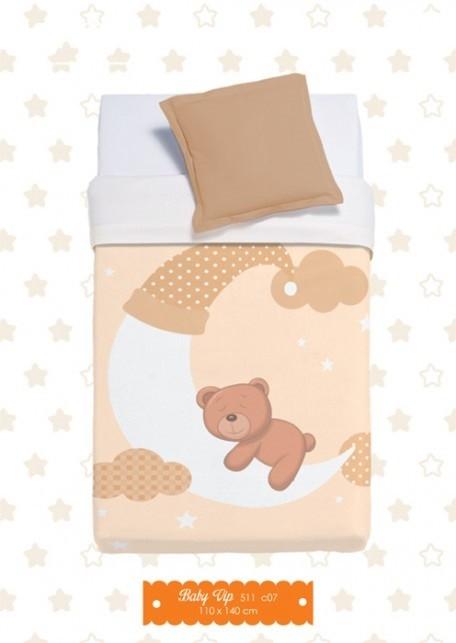 Κουβέρτα Βελουτέ Αγκαλιάς Manterol Baby Vip 511 C07
