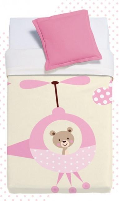 Κουβέρτα Βελουτέ Κούνιας Manterol Baby Vip 512 C04