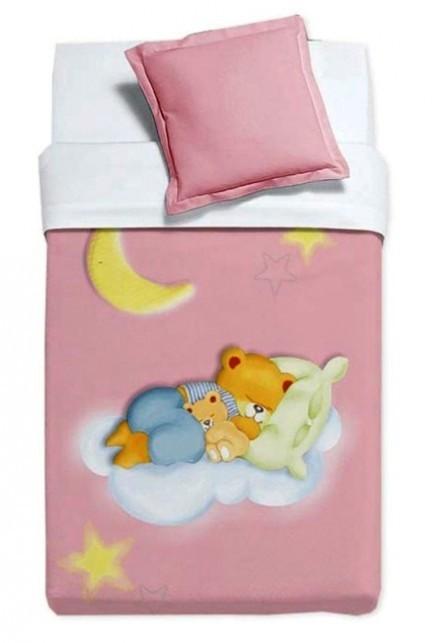 Κουβέρτα Βελουτέ Κούνιας Manterol Baby Alfa 853 C04