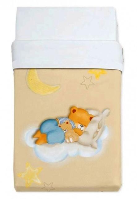 Κουβέρτα Βελουτέ Κούνιας Manterol Baby Alfa 853 C07