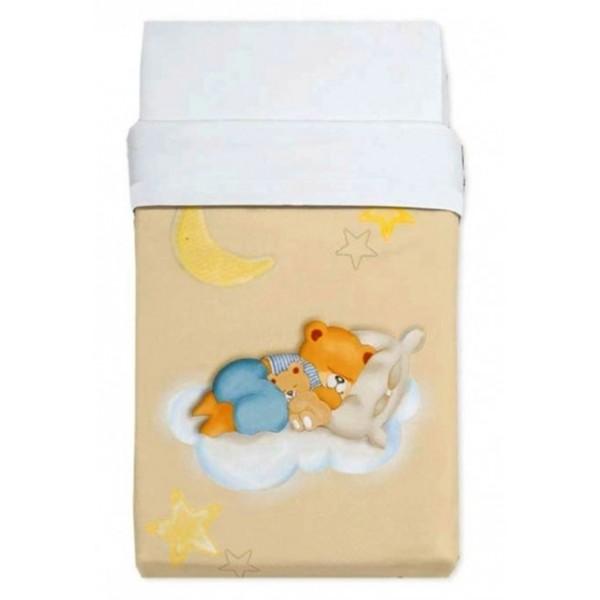 Κουβέρτα Βελουτέ Αγκαλιάς Manterol Baby Alfa 853 C07