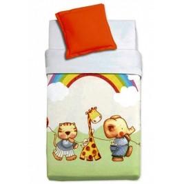 Κουβέρτα Βελουτέ Κούνιας Manterol Baby Alfa 857 C05