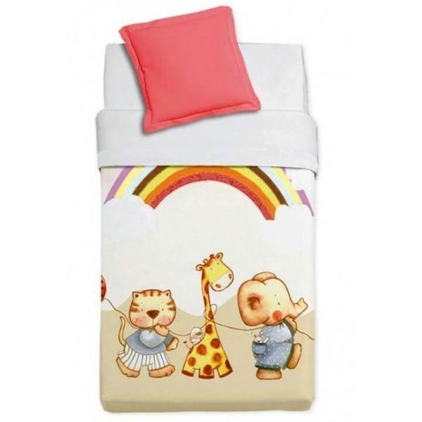 Κουβέρτα Βελουτέ Κούνιας Manterol Baby Alfa 857 C07