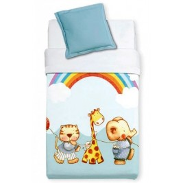 Κουβέρτα Βελουτέ Αγκαλιάς Manterol Baby Alfa 857 C08