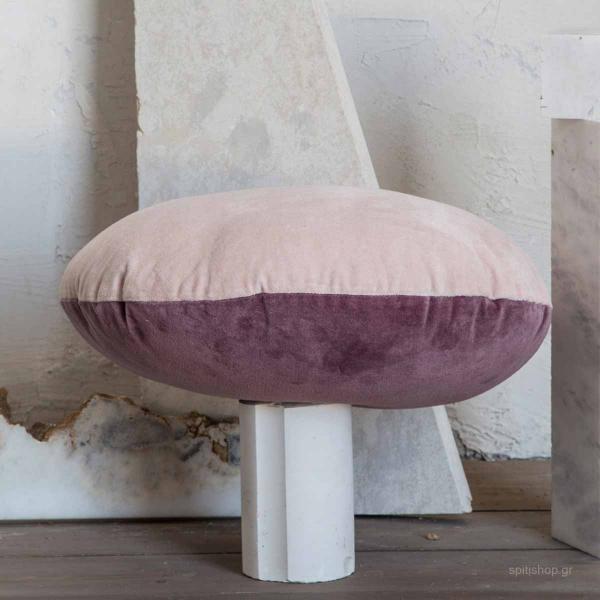Διακοσμητικό Μαξιλάρι 2 Όψεων (Φ45) Nima Pillows Velvety