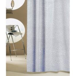 Κουρτίνα Μπάνιου Πλαστική San Lorentzo Mosaic Grey