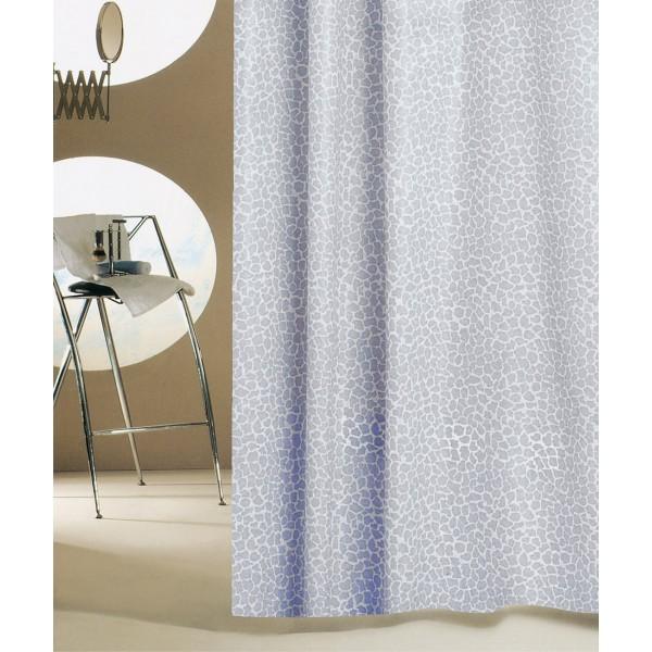 Κουρτίνα Μπάνιου Πλαστική (180x180) San Lorentzo Mosaic Grey
