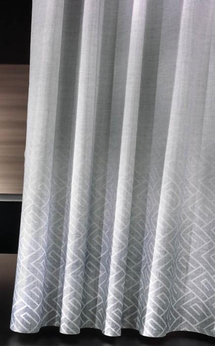 Κουρτίνα Μπάνιου Υφασμάτινη Guy Laroche Canopy Smoke 240×190