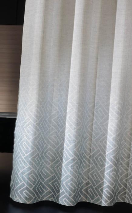 Κουρτίνα Μπάνιου Υφασμάτινη Guy Laroche Canopy Aqua 180×190