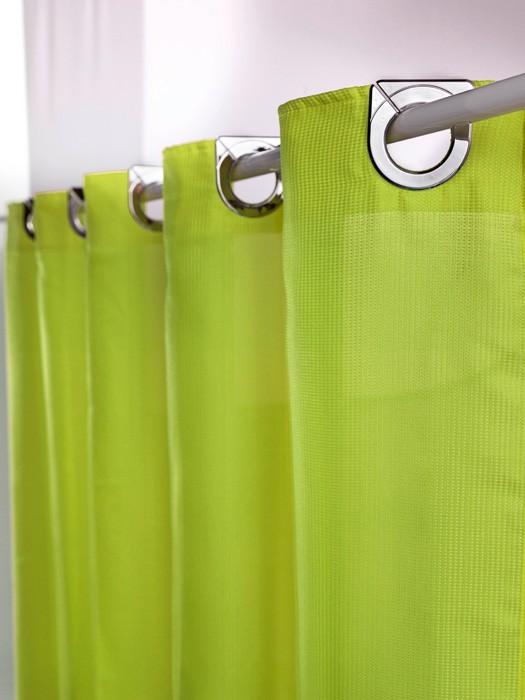 Κουρτίνα Μπάνιου Υφασμάτινη Guy Laroche Astrid Lime 200×200