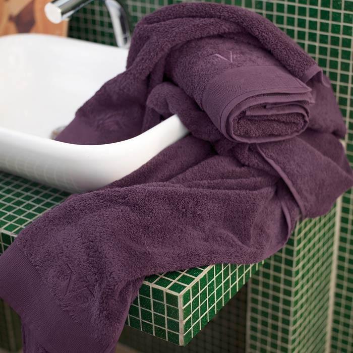 Πετσέτα Προσώπου (50x100) V19.69 Elegante Uva Violet