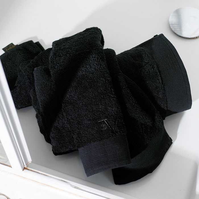 Πετσέτα Σώματος (100x150) V19.69 Elegante Solano Black