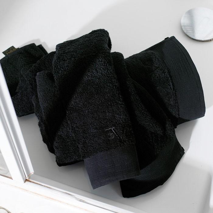 Πετσέτα Χεριών (40x60) V19.69 Elegante Solano Black