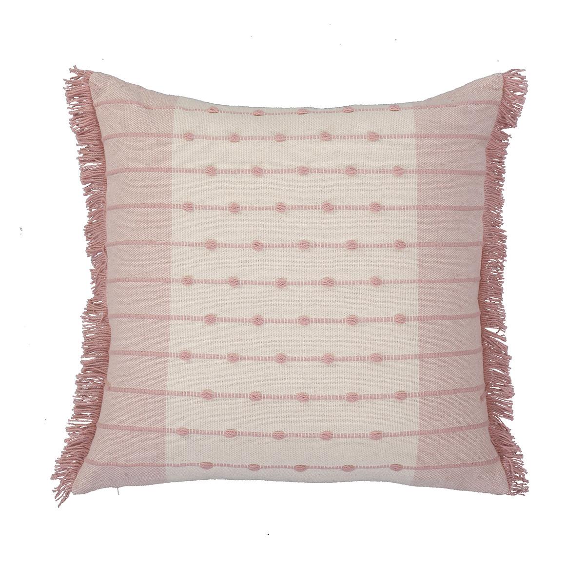Διακοσμητικό Μαξιλάρι (50x50) Nef-Nef Yorker Pink