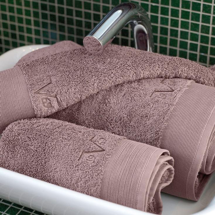 Πετσέτα Προσώπου (50x100) V19.69 Elegante Polveroso Dusty