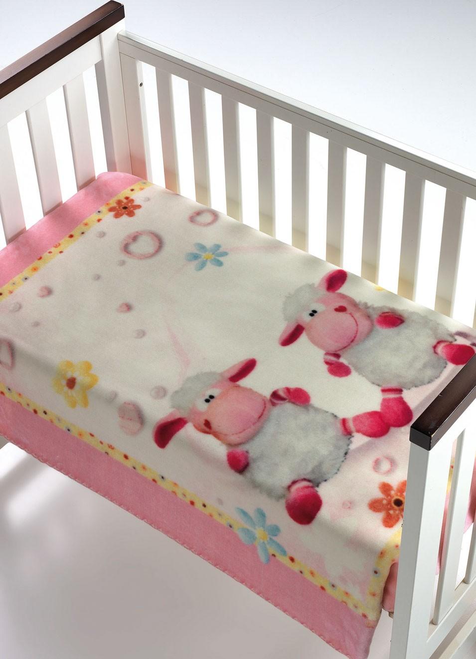 Κουβέρτα Βελουτέ Αγκαλιάς Morven Piccola 009 Ροζ