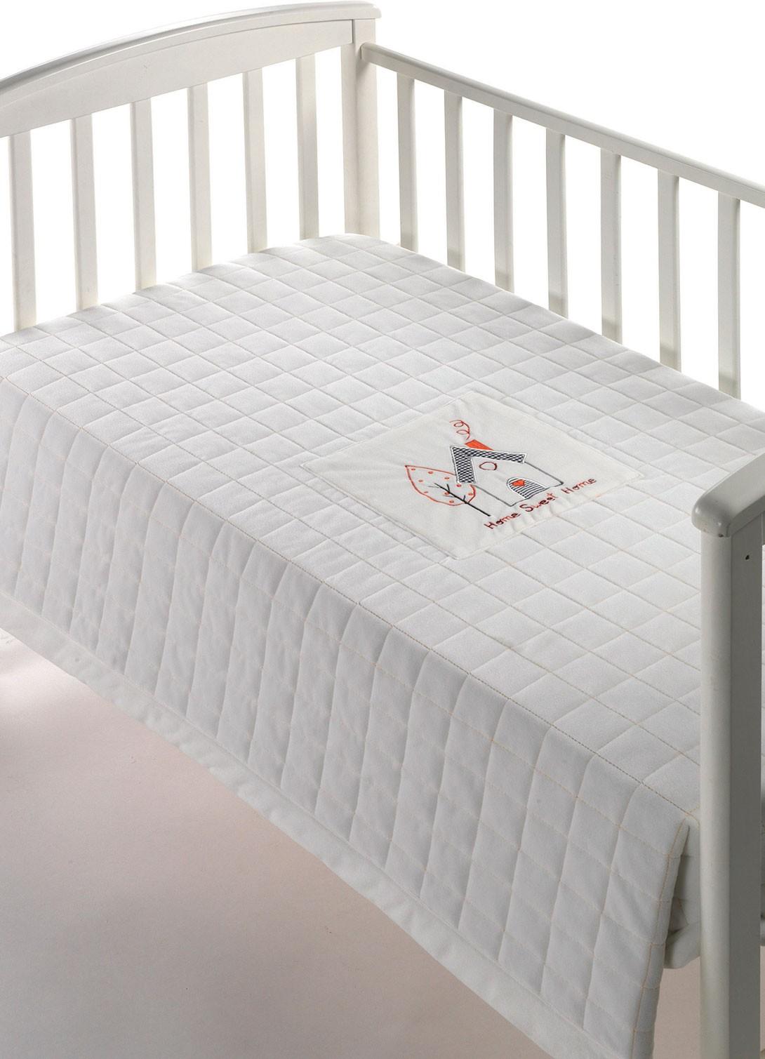 Κουβέρτα Κούνιας Fleece Morven Peques 209 Λευκό