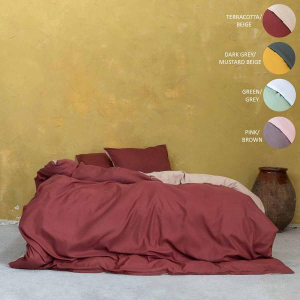 Πάπλωμα Υπέρδιπλο 2 Όψεων Nima Bed Linen Abalone AW2021