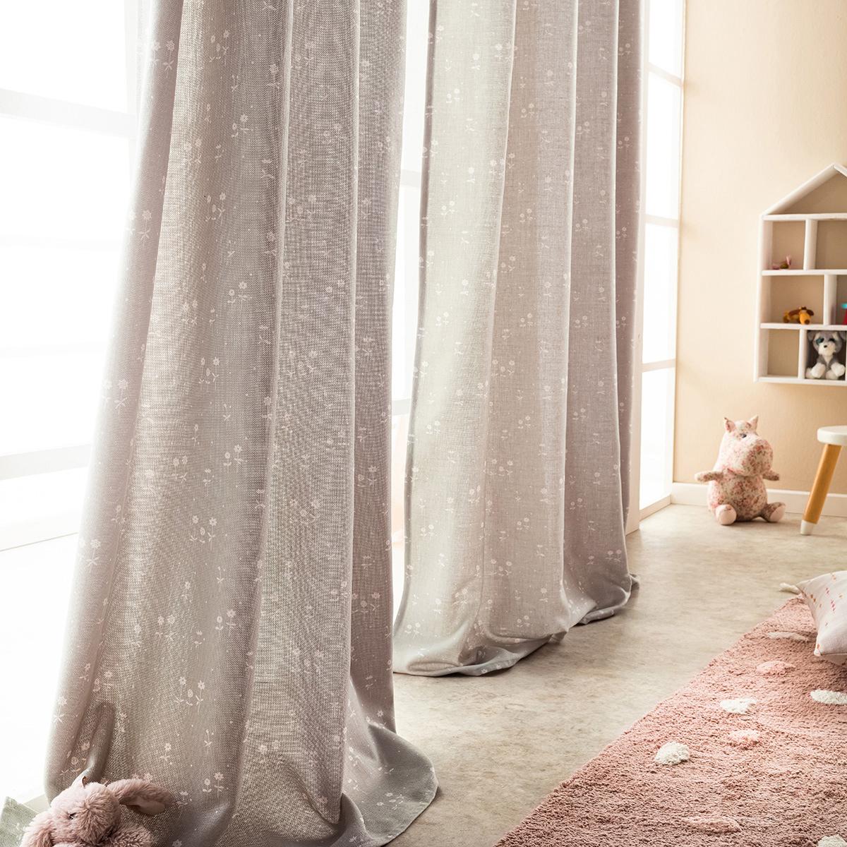 Παιδική Κουρτίνα (140x280) Με Τρέσα Gofis Home Cassian 420
