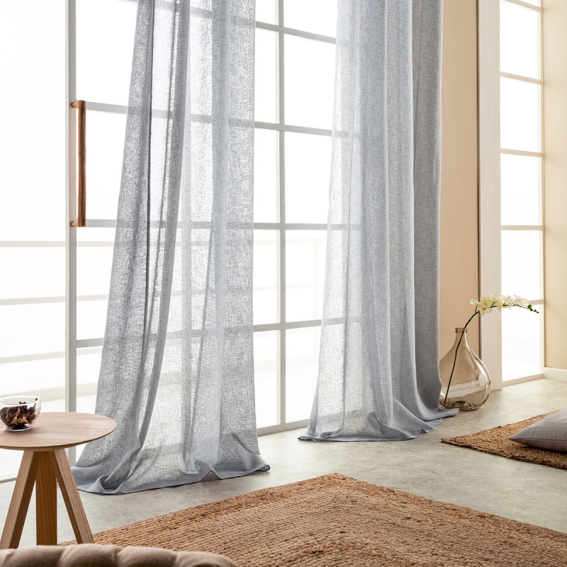 Κουρτίνα (140x260) Με Τρουκς Gofis Home Combe Grey 502/15