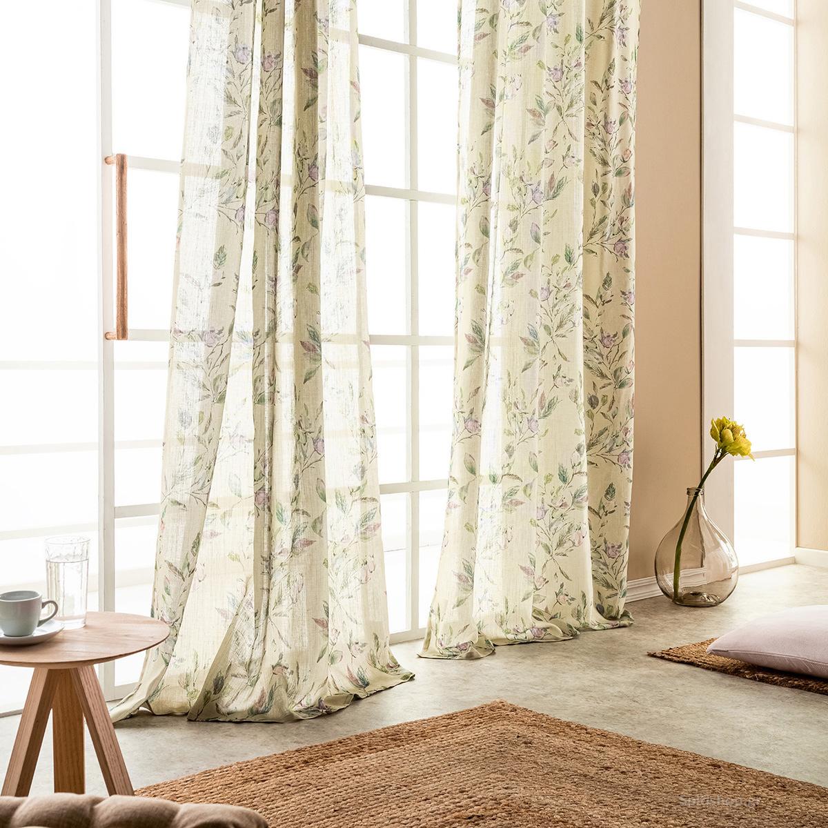 Κουρτίνα (140×280) Με Τρέσα Gofis Home Azalia 950