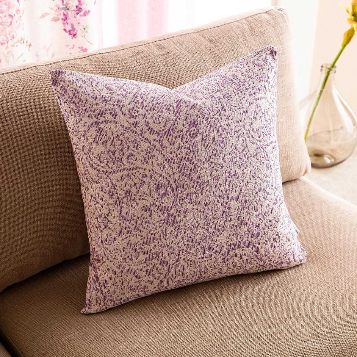 Διακοσμητική Μαξιλαροθήκη (50×50) Gofis Home Emerald Lilac 144/20