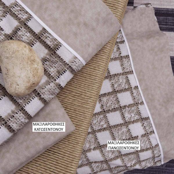 Ζεύγος Μαξιλαροθήκες Palamaiki Coordinabile 2067