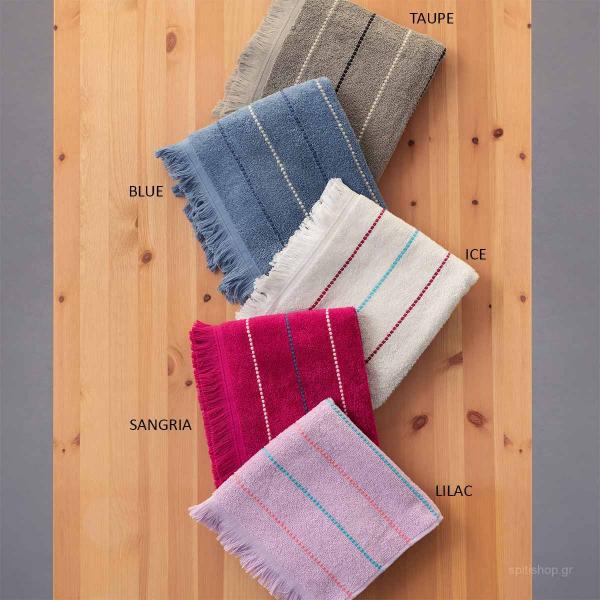 Πετσέτες Μπάνιου (Σετ 3τμχ) Palamaiki Towels Diya