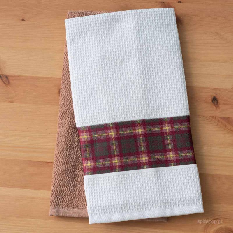 Πετσέτες Κουζίνας (Σετ 2τμχ) Palamaiki Fawn