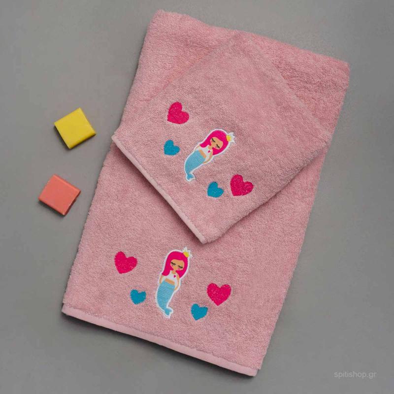 Παιδικές Πετσέτες (Σετ 2τμχ) Palamaiki Marla