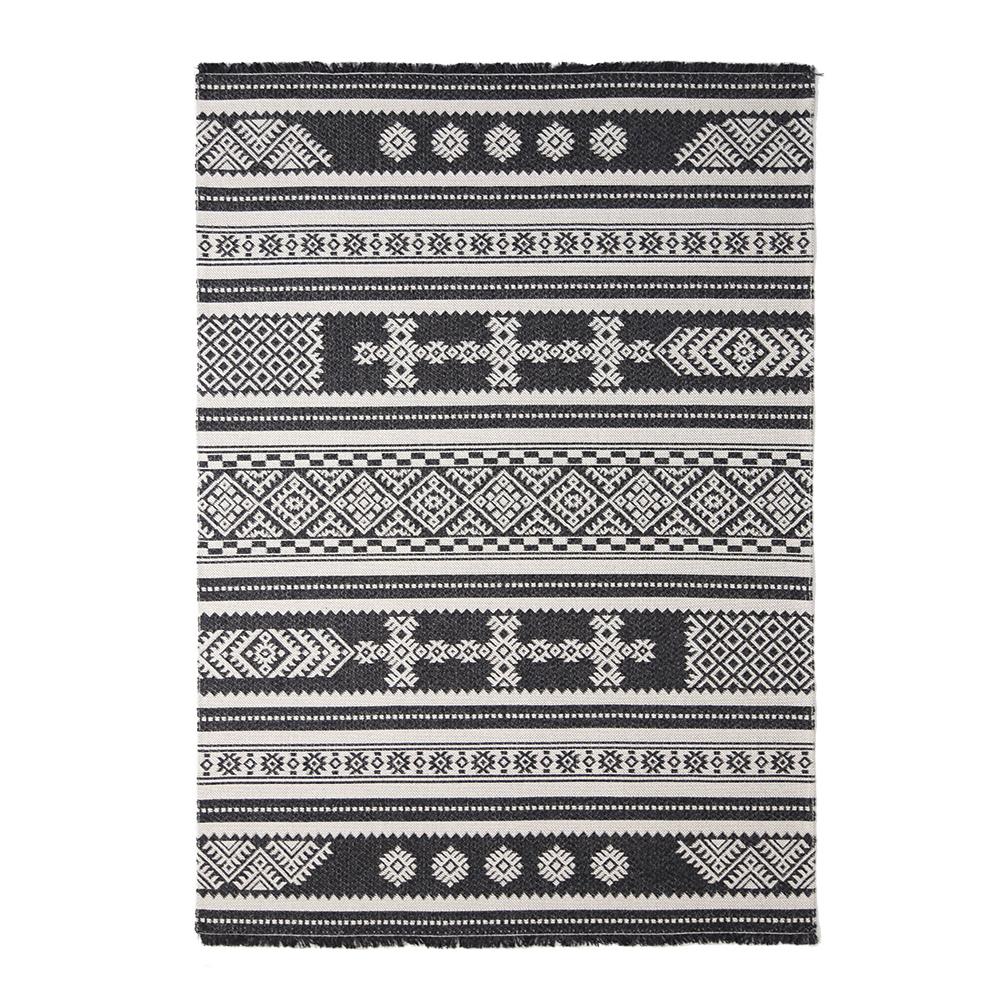 Χαλί All Season (192×250) Royal Carpets Casa Cotton 22095 Black