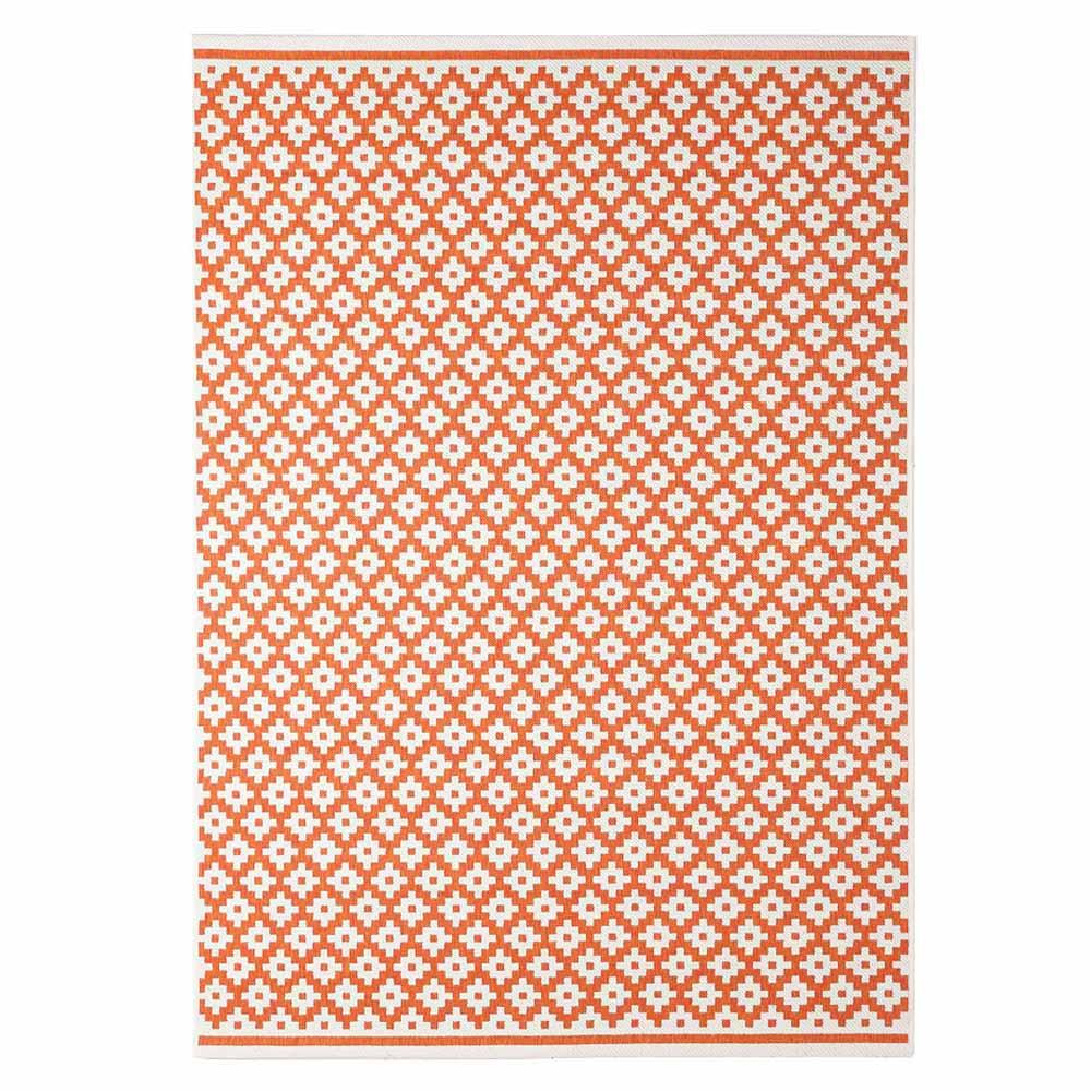 Χαλί Καλοκαιρινό (160×235) Royal Carpets Flox 722 Orange
